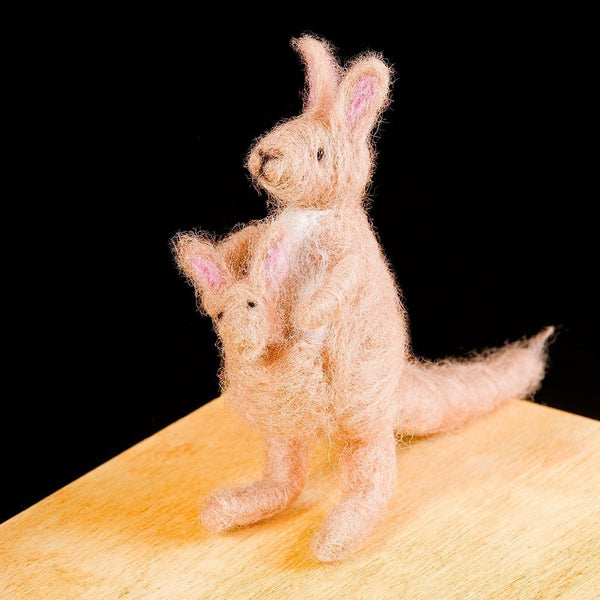 Woolpets Kangaroo Needle Felting Kit