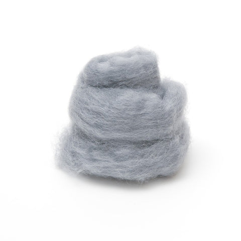 1 oz. Smoke Wool Roving