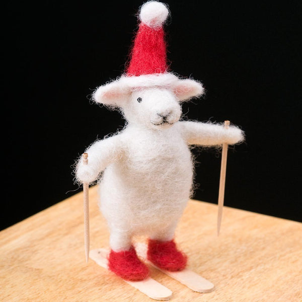 Woolpets Ski Sheep