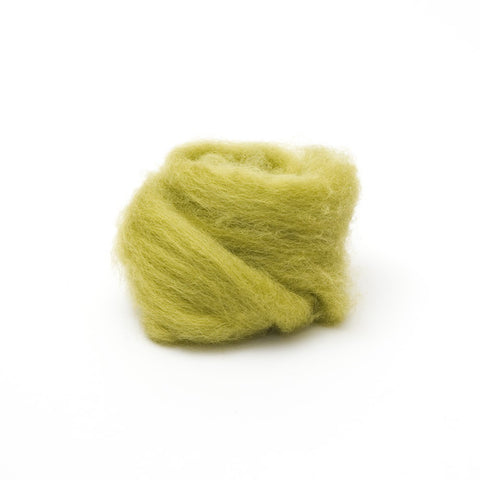 1 oz. Lima Bean Wool Roving