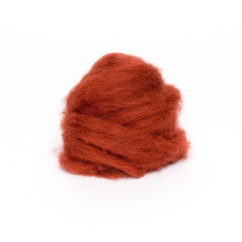 1 oz. Nutmeg Wool Roving