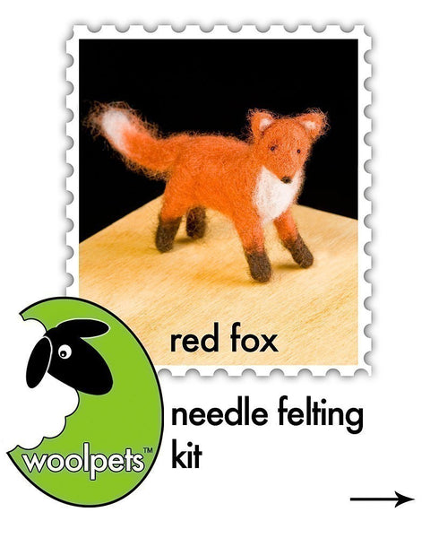 Red Fox Needle Felting Kit