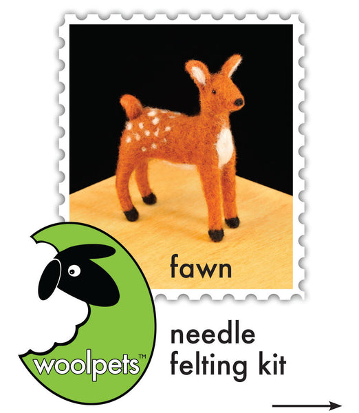 Fawn Needle Felting Kit