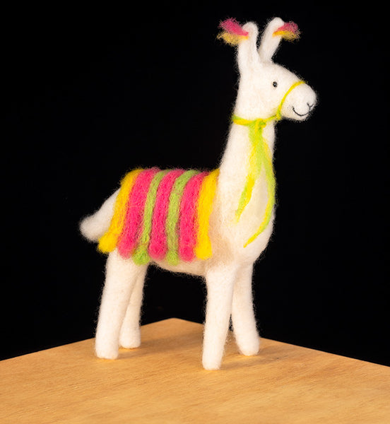 Llama Needle Felting Kit