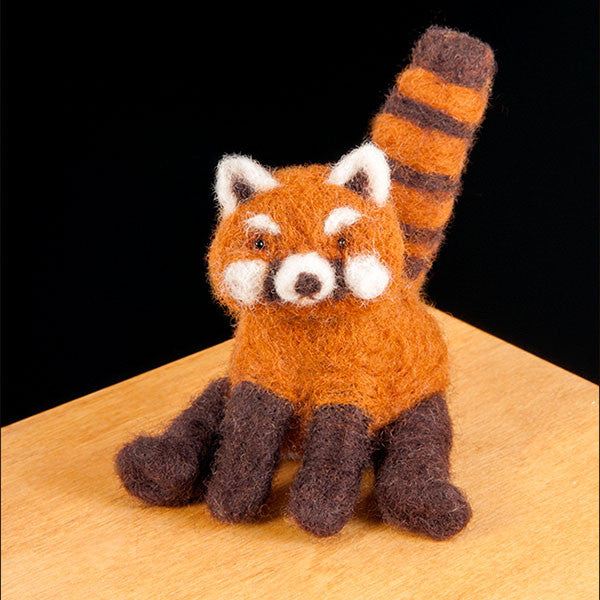 Red Panda Needle Felting Kit