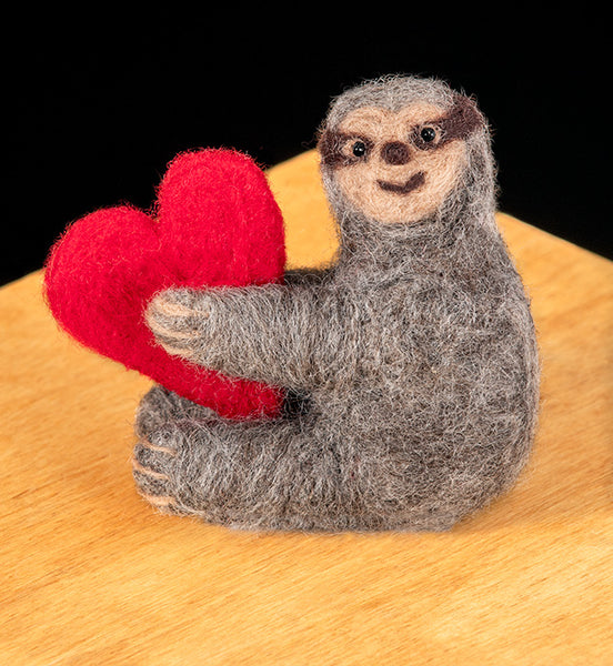 Sloth Needle Felting Kit
