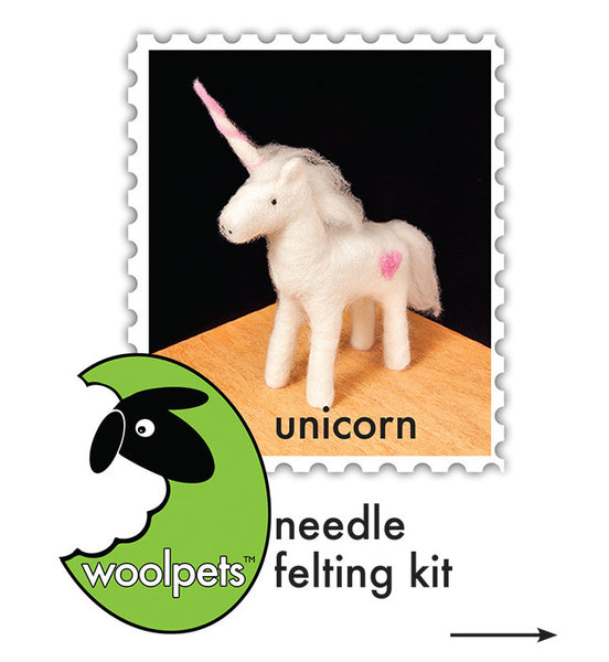 Unicorn Needle Felting Kit