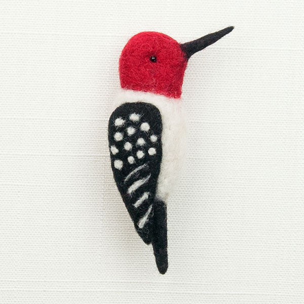 Woolpets finished woodpecker