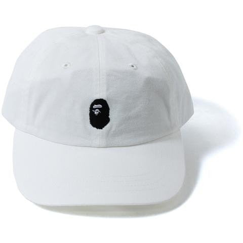 A Bathing Ape White Dad Cap