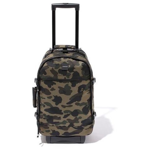 "A BATHING APE 1ST ""GREEN"" CAMO TRAVEL LUGGAGE"