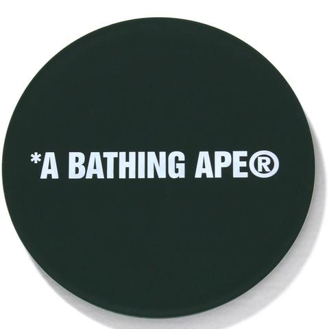 "A BATHING APE BAPE ABC ""GREEN"" RUBBER COASTER"