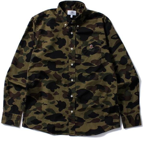 "A Bathing Ape 1st Camo ""Green"" Button Up"