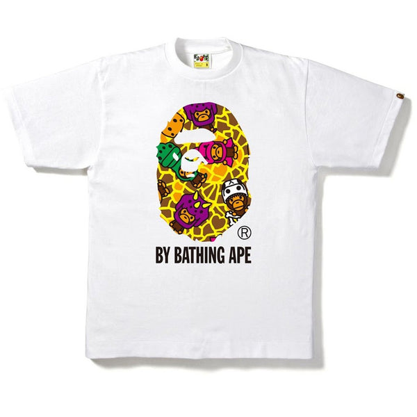 MILO DINOSAURS BY BATHING APE TEE