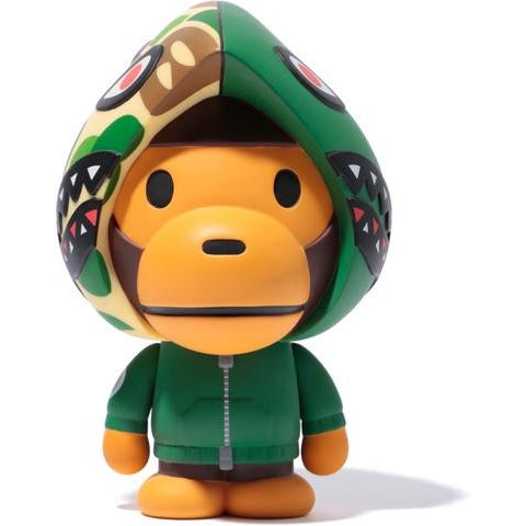 "2016 A BATHING APE MEDICOM TOY VCD ""BABY MILO SHARK HOODIE GREEN"""