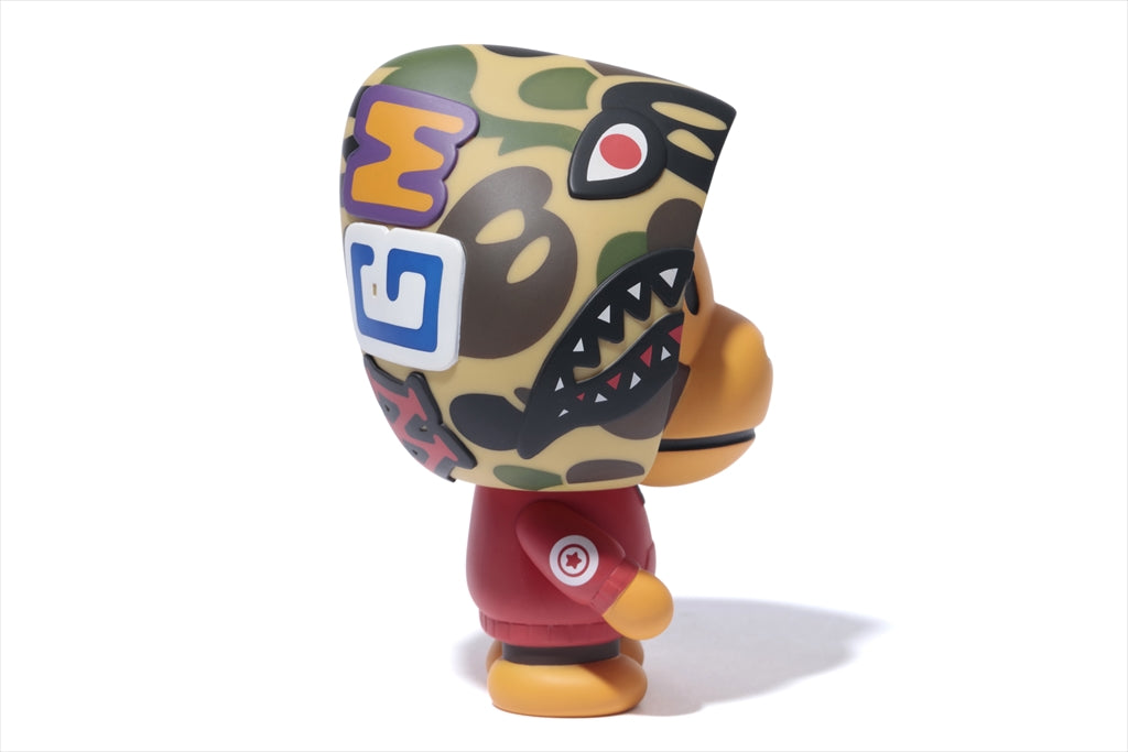 "A BATHING APE MEDICOM TOY VCD ""BABY MILO SHARK HOODIE RED"""