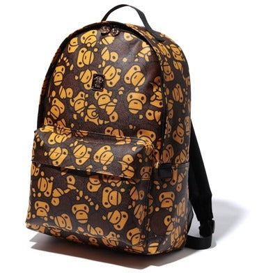 Bape All Baby Milo Brown DAYPACK