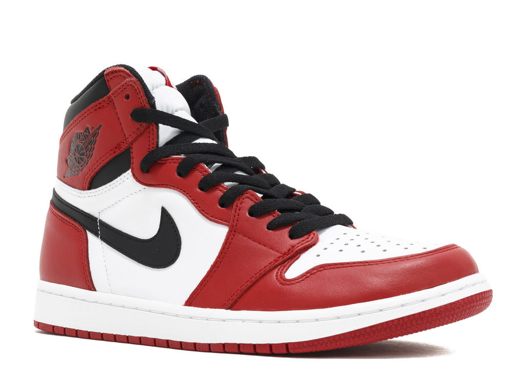 "2015 NIKE AIR JORDAN 1 RETRO HIGH OG ""CHICAGO"" (555088-101)"