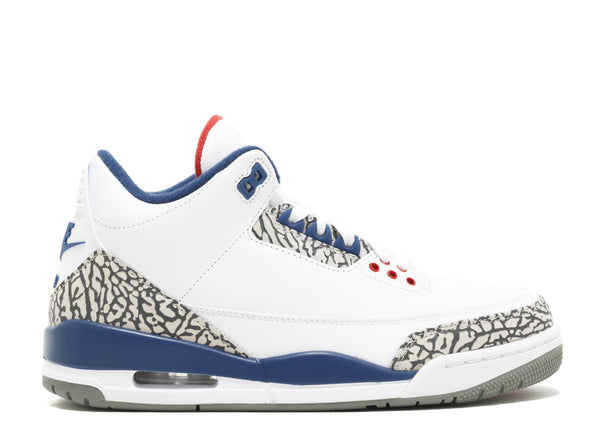 "2016 Nike Air Jordan 3 Retro ""True Blue""  (854262-106)"