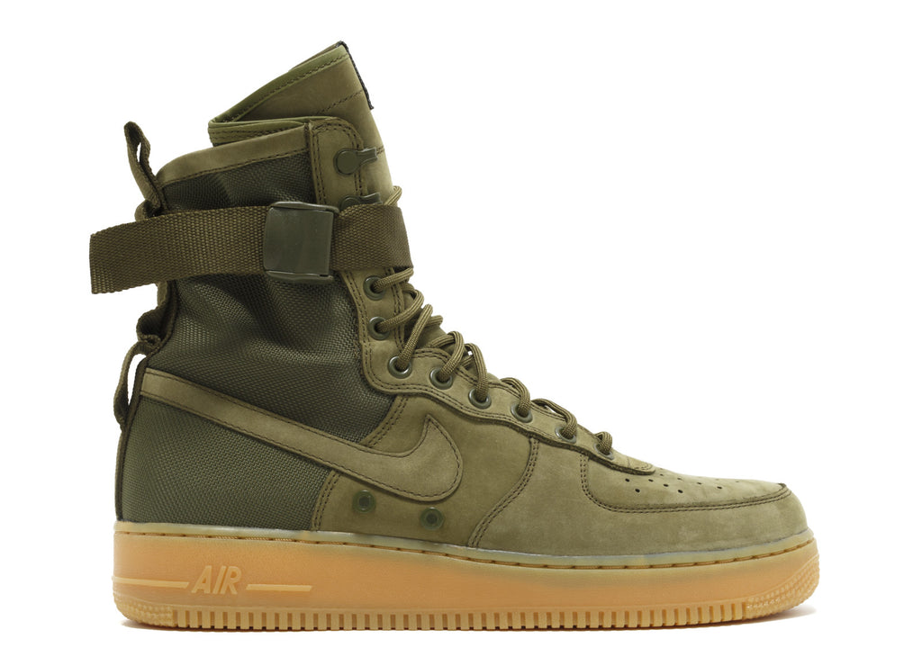 "Nike Air Force 1 Special Forces High ""Olive"" (859202-339)"