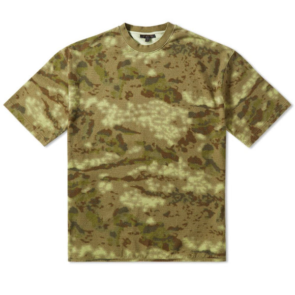 "YEEZY SEASON 3 HEAVY KNIT ""CAMO"" TEE (KW3M100-101A) *OVERSIZED FIT"