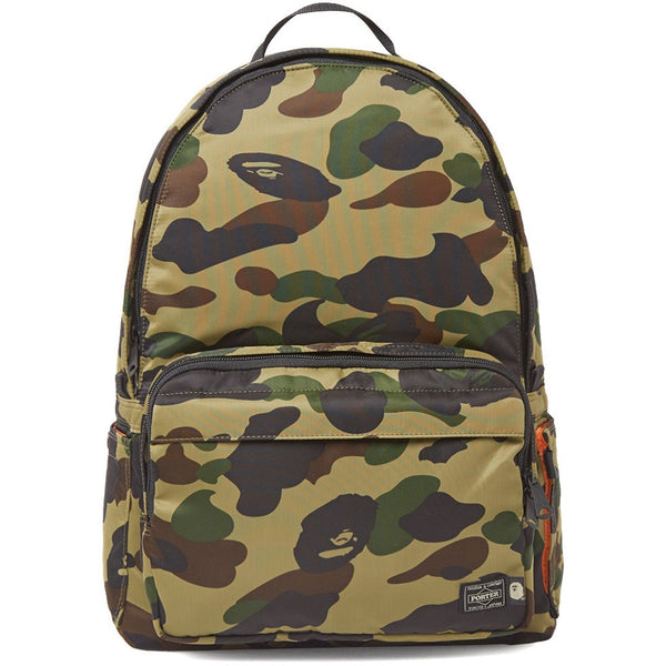 A BATHING APE X PORTER 1ST CAMO DAY PACK