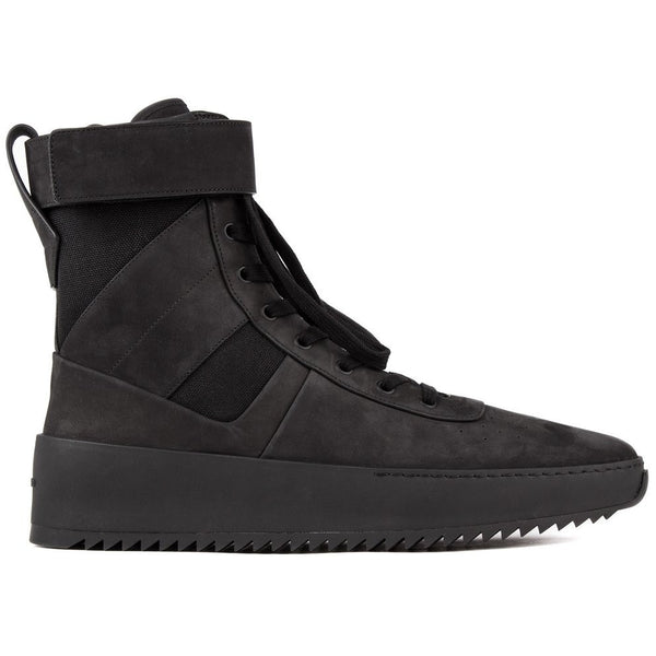 "FEAR OF GOD ""TRIPLE BLACK"" MILITARY SNEAKER"