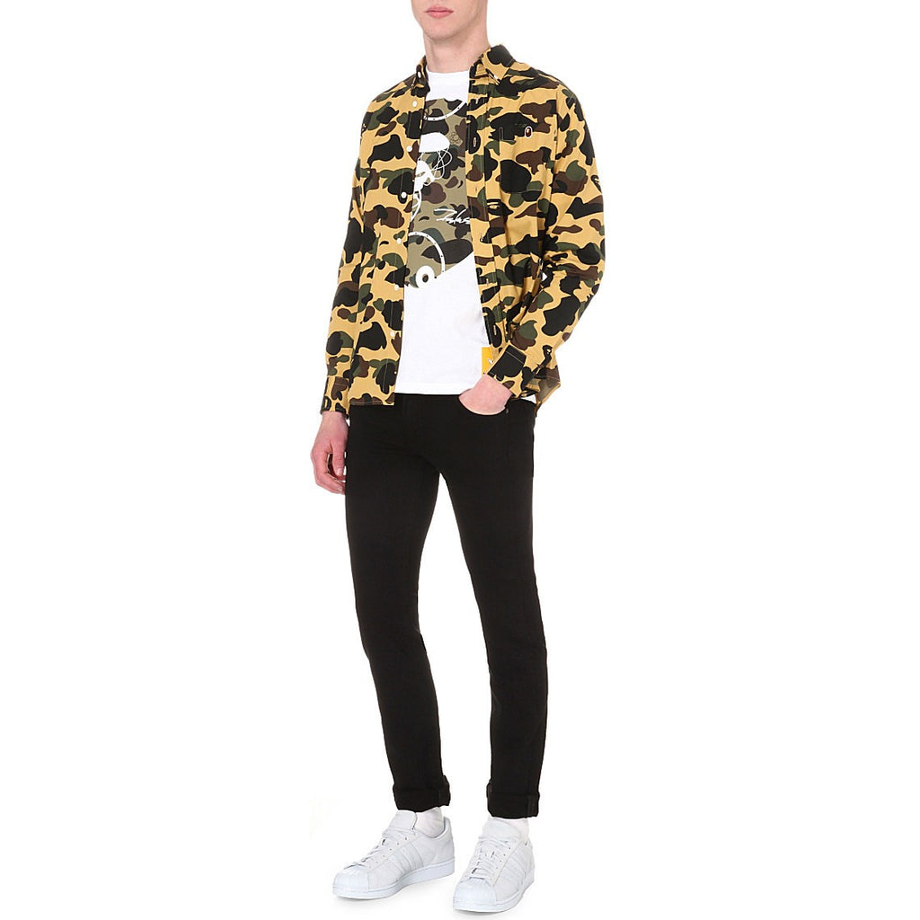 "A Bathing Ape 1st Camo ""Yellow"" Button Up"