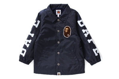 "A BATHING APE BAPE KIDS ""NAVY"" COACH JACKET"