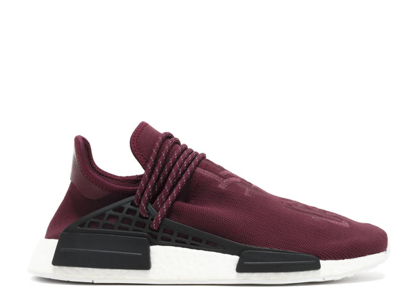 "PW HUMAN RACE NMD MAROON ""PHARRELL FRIENDS AND FAMILY"" BB0617"