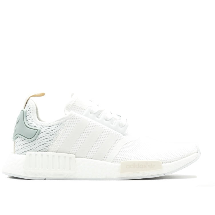 "WOMENS ADIDAS NMD R1  ""White/Green"" (BY3033)"