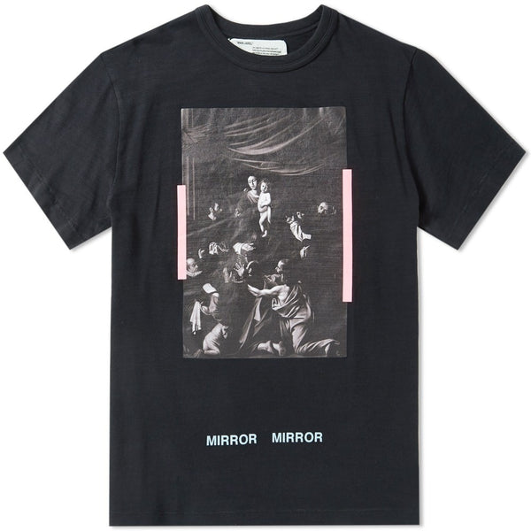 "OFF-WHITE CARAVAGGIO ""BLACK"" TEE"