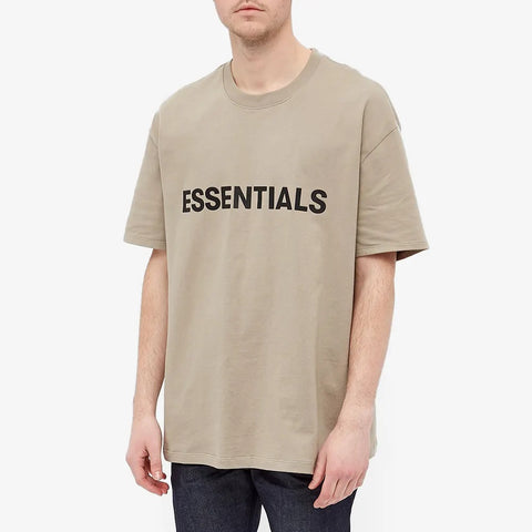 FEAR OF GOD ESSENTIALS Boxy T-Shirt Charcoal