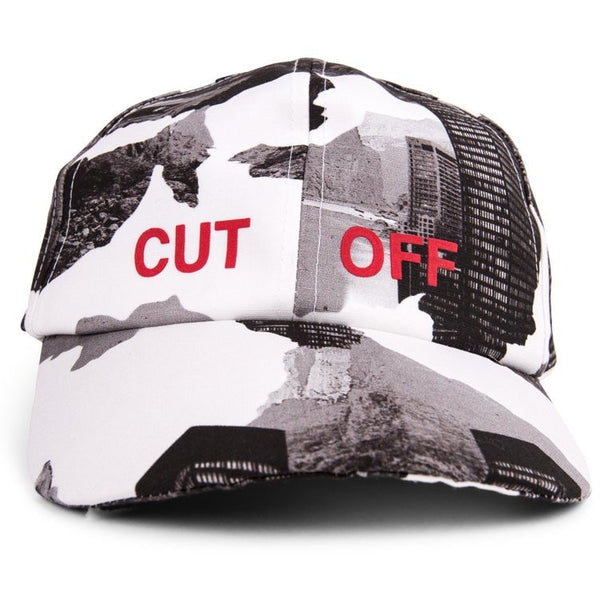 "Off White Architect ""Cut Off"" Camouflage Cap"