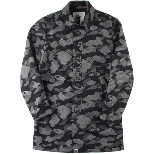 A BATHING APE REFLECTION CAMO COACH JACKET