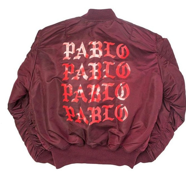 KANYE WEST I FEEL LIKE PABLO BOMBER JACKET