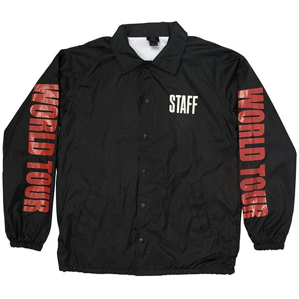 "Justin Bieber ""World Tour Staff"" Coaches Jacket"