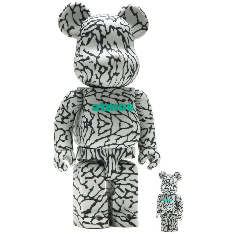 ATMOS X MEDICOM BE@RBRICK TOY 100% & 400% *SEALED BOX*