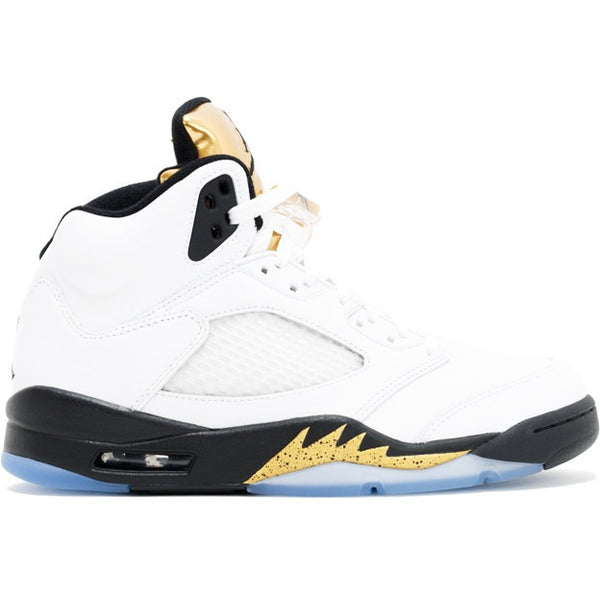 "AIR JORDAN 5 RETRO ""OLYMPIC GOLD"" (136027 133)"