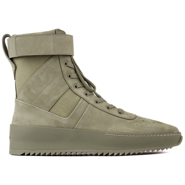 "FEAR OF GOD ""TONAL GREEN"" MILITARY SNEAKER"