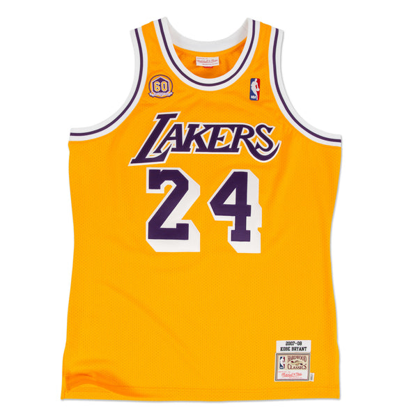 MITCHELL AND NESS Kobe Bryant 2007-08 Authentic Jersey Los Angeles Lakers