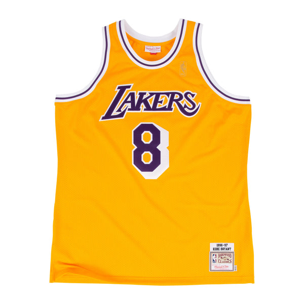 MITCHELL AND NESS Kobe Bryant 1996-97 Authentic Jersey Los Angeles Lakers