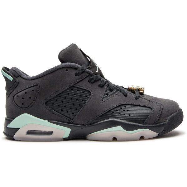 "Jordan VI Retro Low ""Anthracite Mint Foam"" (768878-015) GRADESCHOOL"