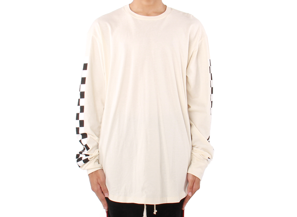 "EPTM ELONGATED RACING ""VINTAGE WHITE"" LONG SLEEVE T-SHIRT"
