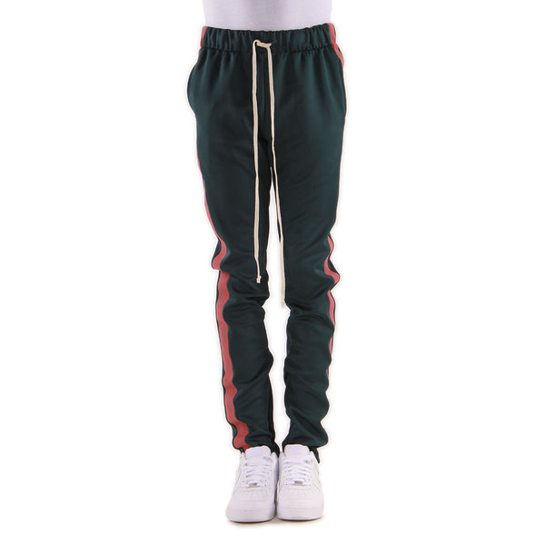 "EPTM 4 STRIPES ""GREEN/RED"" TRACK PANTS"