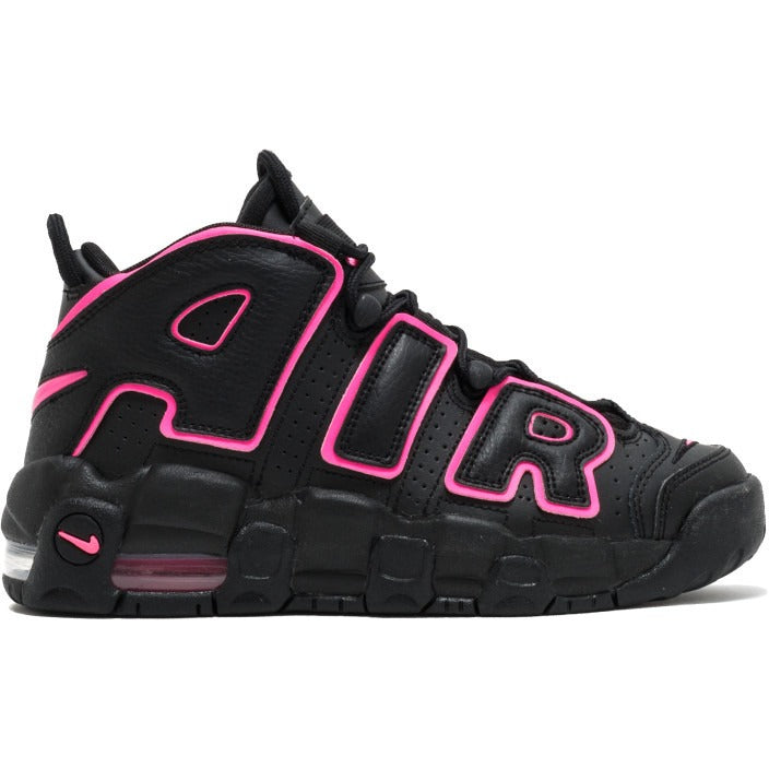 "2017 Nike Air More Uptempo GS ""Black/Pink"" (415082-003)"