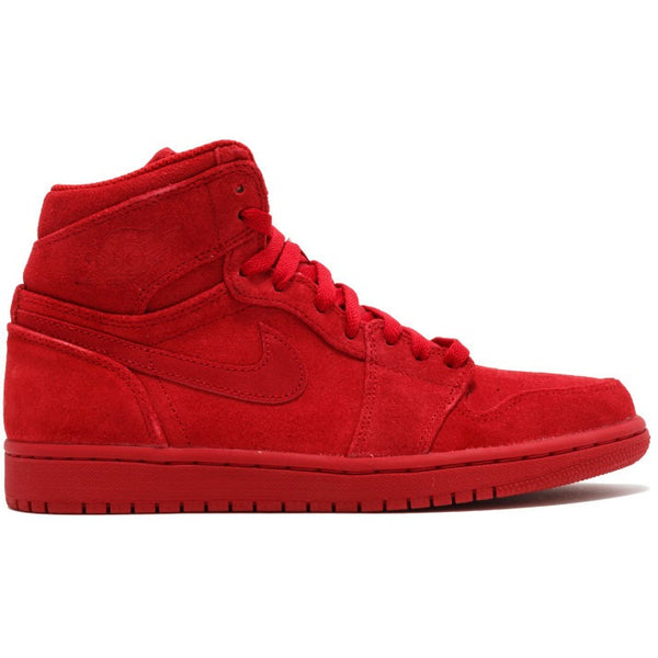 "2017 AIR JORDAN AIR JORDAN 1 HIGH ""RED SUEDE"" (332550-603)"