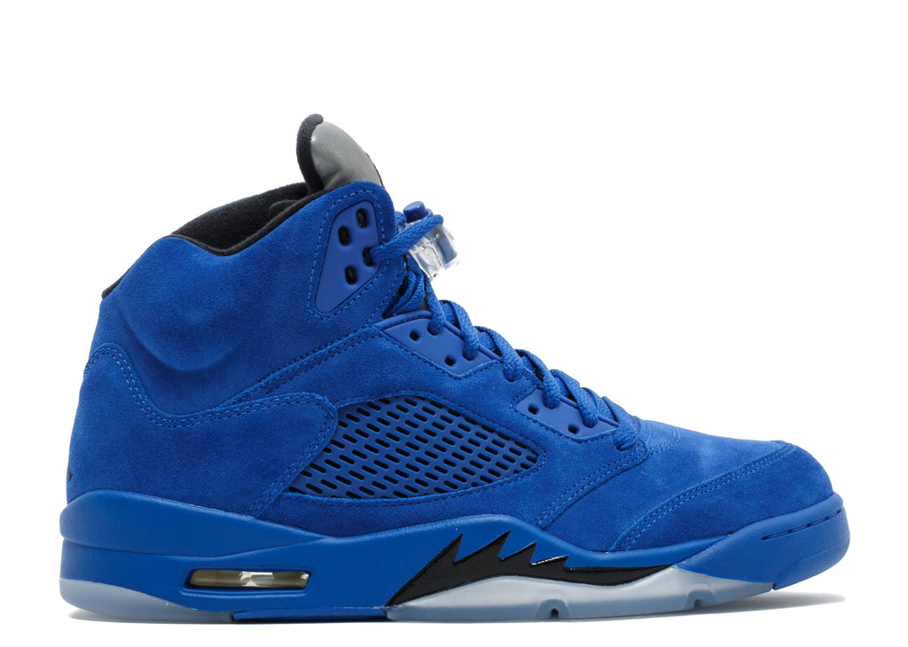 "2017 Air Jordan V ""Blue Suede"" (136027-401)"