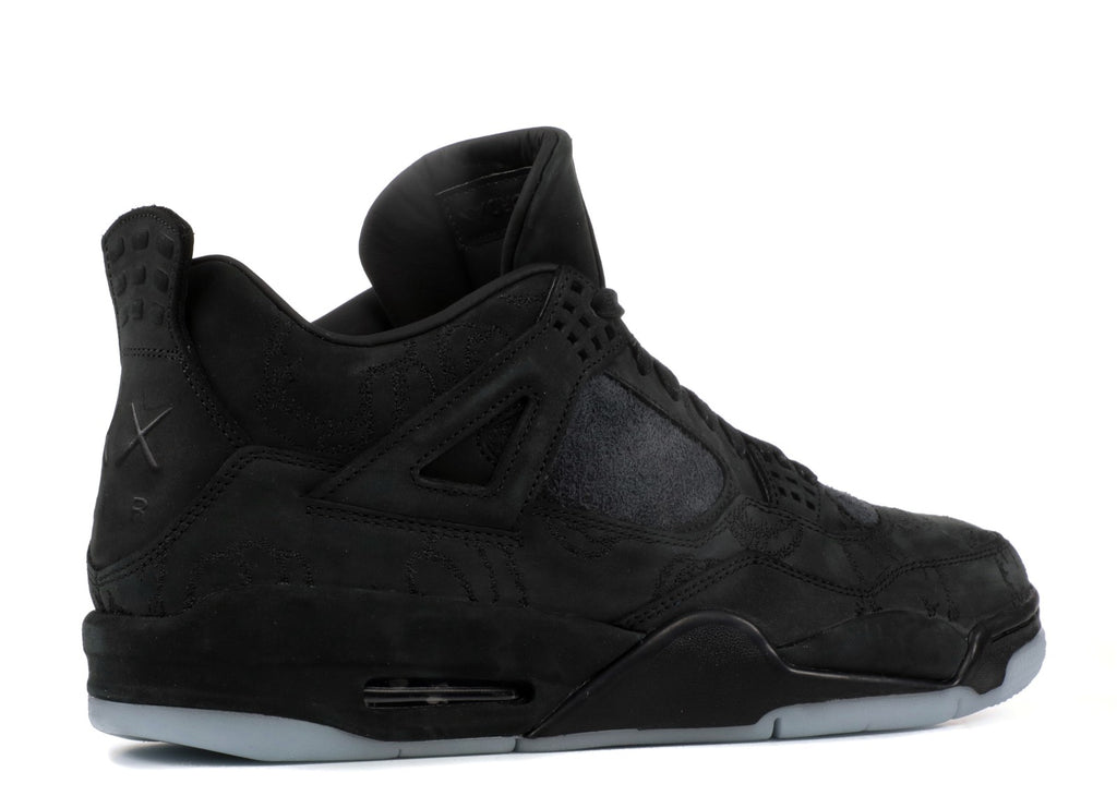 "AIR JORDAN 4 RETRO ""BLACK KAWS"" (930155-001)"