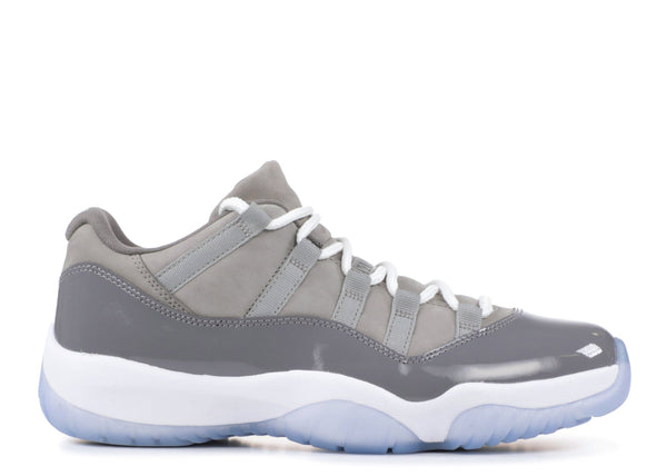 "2018 AIR JORDAN 11 LOW ""COOL GREY"" (528896-003) GS"