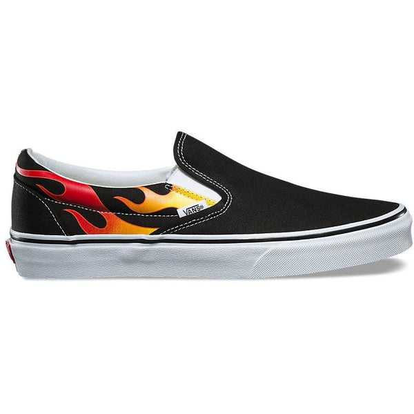 "VANS SLIP-ON ""FLAME"""